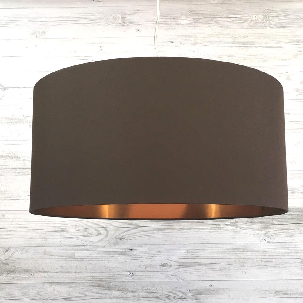 Eclipse Pendant Chocolate/Copper